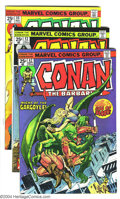 Bronze Age (1970-1979):Miscellaneous, Conan The Barbarian #41-50 Group (Marvel, 1974-75) Condition:Average NM-. This group contains 10 comics: #41-50. Artists in...(Total: 10 Comic Books Item)