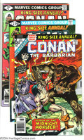 Bronze Age (1970-1979):Miscellaneous, Conan The Barbarian Group (Marvel, 1976-81) Condition: AverageVF/NM. This group contains 28 comics #67-72, 74, 75, 77, 79, ...(Total: 28 Comic Books Item)
