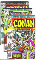 Bronze Age (1970-1979):Miscellaneous, Conan The Barbarian Group (Marvel, 1976-78) Condition: Average FN+.This group consists of #72-90, 92, and 93. These issues ...