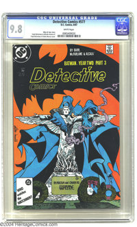 Detective Comics #577 (DC, 1987) CGC NM/MT 9.8 White pages. Todd McFarlane cover and art. Highest grade yet assigned by...