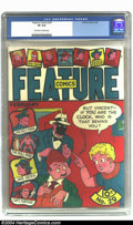 Golden Age (1938-1955):Humor, Feature Comics #29 (Quality, 1940) CGC VF 8.0 Off-white to white pages. This great copy has a very early appearance of Doll-...