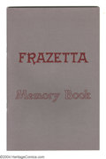 Books:Creator Biography, Frazetta Memory Book First edition (Frank Frazetta, 1977)Condition:NM. An item that many Frazetta collectors have neversee...