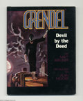 Modern Age (1980-Present):Alternative/Underground, Grendel Devil by the Deed (Graphitti Designs, 1986). Signed andnumbered, limited edition hardcover with dustjacket. #1576/2...
