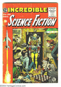Golden Age (1938-1955):Science Fiction, Incredible Science Fiction Issues #32 and 33 Group (EC, 1955-56).Art by Jack Davis, Joe Orlando, Al Williamson with Roy Kre...(Total: 2 Comic Books Item)