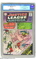 Silver Age (1956-1969):Superhero, Justice League of America #37 (DC, 1965) CGC NM- 9.2 Cream to off-white pages. First Silver Age appearance Mr. Terrific. Bat...