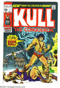 Bronze Age (1970-1979):Miscellaneous, Kull the Conqueror #1 (Marvel, 1971) Condition: NM-. Ross Andru andWally Wood art. Overstreet 2003 NM 9.4 value = $40....