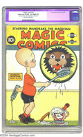Golden Age (1938-1955):Miscellaneous, Magic Comics #2 (David McKay Publications, 1939) CGC Apparent VG/FN 5.0 Slight (P). Henry cover. The only restoration is som...