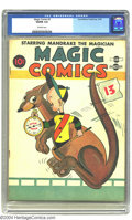 Golden Age (1938-1955):Funny Animal, Magic Comics #3 (David McKay Publications, 1939) CGC VG/FN 5.0Off-white pages. Henry cover. Overstreet 2002 GD 2.0 value =...