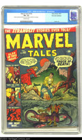 Golden Age (1938-1955):Horror, Marvel Tales #103 Palo Alto pedigree (Marvel, 1951) CGC FN- 5.5Off-white pages. Ross Andru art. Only two copies of this iss...