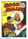 Golden Age (1938-1955):Cartoon Character, Moon Mullins #1 (ACG, 1948) Condition: VG. Strip reprints.Overstreet 2003 VG 4.0 value = $42....