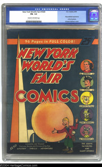 New York World's Fair Comics #1939 (DC, 1939) CGC FN- 5.5 Off-white pages. This trail-blazing issue, the forerunner of W...
