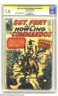 Silver Age (1956-1969):War, Sgt. Fury and His Howling Commandos #9 Stan Lee File Copy (Marvel, 1964) CGC FR 1.0 Cream to off-white pages. Signature Series....