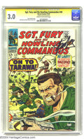 Silver Age (1956-1969):War, Sgt. Fury and His Howling Commandos #49 Stan Lee File Copy (Marvel, 1967) CGC GD/VG 3.0 Cream to off-white pages. Signature Se...