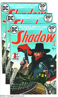 Bronze Age (1970-1979):Miscellaneous, The Shadow Group (DC, 1973) Condition: Average NM-. This lotcontains four beautiful copies of The Shadow #1. Michael Ka...(Total: 4 Comic Books Item)