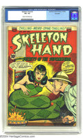 Golden Age (1938-1955):Horror, Skeleton Hand #2 Big Apple pedigree (ACG, 1952) CGC VF+ 8.5 Creamto off-white pages. Overstreet 2003 VF 8.0 value = $190; V...