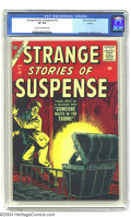 Silver Age (1956-1969):Horror, Strange Stories of Suspense #14 Circle 8 pedigree (Atlas, 1957) CGCVF 8.0 Cream to off-white pages. Another Bill Everett ho...