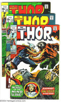 Silver Age (1956-1969):Superhero, Thor #172-179 Group (Marvel, 1970) Condition: Average VG+. This lot consists of issues #172-179. Jack Kirby art. Overstreet ... (Total: 8 Comic Books Item)