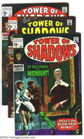 Silver Age (1956-1969):Horror, Tower of Shadows #1-3 Group (Marvel, 1968-69) Condition: AverageVF+. Jim Steranko and Johnny Craig art in #1; Neal Adams ar...(Total: 3 Comic Books Item)