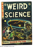 Golden Age (1938-1955):Science Fiction, Weird Science #16 (EC, 1952) Condition: VG. Art by Wally Wood, AlWilliamson, Jack Kamen, and Joe Orlando. Inside front cove...