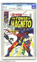 Silver Age (1956-1969):Superhero, X-Men #43 (Marvel, 1968) CGC NM- 9.2 Off-white to white pages. John Buscema cover. George Tuska and Werner Roth interior art...
