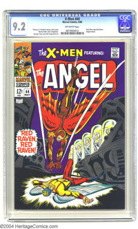 X-Men #44 (Marvel, 1968) CGC NM- 9.2 Off-white pages. Don Heck cover. George Tuska and Werner Roth interior art. First S...