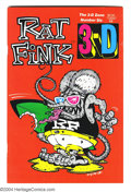 Modern Age (1980-Present):Alternative/Underground, Rat Fink 3-D #6 (3-D Zone, 1986) Condition: VF. The sixth issue ofRay Zone's famous reprints of the Rat Fink strips from Dr...