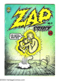 Silver Age (1956-1969):Alternative/Underground, Zap Comix #0 (Apex Novelties, 1967). Second printing of thisclassic Underground. Robert Crumb art. Not listed in Overstreet...
