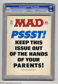 Magazines:Mad, Mad #195 Gaines File Pedigree (EC, 1977) CGC NM- 9.2 Off-white pages. Frank Jacobs and Dick DeBartolo stories. Mort Drucker,...