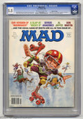 Magazines:Mad, Mad #213 Gaines File Pedigree (EC, 1980) CGC FN- 5.5 Off-white towhite pages. Jack Davis cover art. Dick DeBartolo, Larry S...
