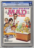 Magazines:Mad, Mad #266 Gaines File Pedigree (EC, 1986) CGC FN/VF 7.0 White pages.Mort Drucker cover art. Frank Jacobs, Dave Berg, and Tom...