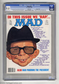 Magazines:Mad, Mad #278 Gaines File Pedigree (EC, 1988) CGC VF/NM 9.0 White pages.Richard Williams cover art. Frank Jacobs, Dick Debartolo...