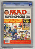 Modern Age (1980-Present):Humor, Mad Super Special #32 Gaines File Pedigree (EC, 1980) CGC VF 8.0Off-white to white pages. Includes Nostalgic Mad #8. Ov...