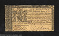 Colonial Notes:Maryland, April 10, 1774, $6, Maryland, MD-69, XF-AU. A single light ...