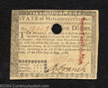 Colonial Notes:Massachusetts, May 5, 1780, $5, Massachusetts, MA-282, AU. This later date ...