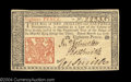 Colonial Notes:New Jersey, New Jersey March 25, 1776 18d Gem New. A nicely margined, ...