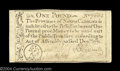 Colonial Notes:North Carolina, North Carolina December 1771 L1 About New. A boldly signed,...