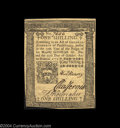 Colonial Notes:Pennsylvania, Pennsylvania October 25, 1775 1s Very Choice New. A boldly ...