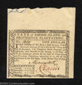 Colonial Notes:Rhode Island, July 2, 1780, $1, Rhode Island, RI-282, Superb Gem CU. This ...