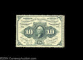 Fractional Currency:First Issue, Fr. 1240 10c First Issue Very Choice New. Perforated all ...