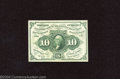 Fractional Currency:First Issue, First Issue 10c, Fr-1243, Gem CU. This is a bright and ...