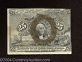 Fractional Currency:Second Issue, Second Issue 25c, Fr-1285, CU. Although this note is poorly ...