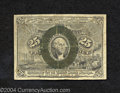 """Fractional Currency:Second Issue, Second Issue 25c, Fr-1285, Fine. This variety with """"A"""" and """"..."""