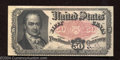 Fractional Currency:Fifth Issue, Fifth Issue 50c, Fr-1380, AU. This is a nice example of a ...