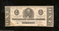 Confederate Notes:1863 Issues, 1863 $1 Clement C. Clay, T-62, Extremely Fine. A couple of ...