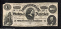 Confederate Notes:1864 Issues, 1864 $100 Lucy Pickens in center; Two Soldiers on left; George ...