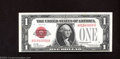 Small Size:Legal Tender Notes, 1928 $1 Legal Tender Note, Fr-1500, Crisp Uncirculated. A ...