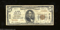 National Bank Notes:West Virginia, Wheeling, WV - $5 1929 Ty. 2 The National Exchange Bank