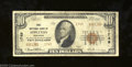 National Bank Notes:Wisconsin, Appleton, WI - $10 1929 Ty. 2 The First NB Ch. # 1749