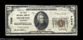 National Bank Notes:Wisconsin, Edgerton, WI - $20 1929 Ty. 1 The First NB Ch. # 7040