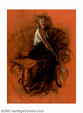 Original Illustration Art:Pin-up and Glamour Art, Rolf Armstrong (1890-1960) Original Pin-up Study (c.1940). RolfArmstrong is revered among artists and fans alike for his co...